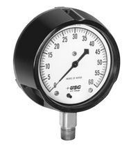 low pressure diaphragm pressure gauge max. 10 psi | SOLFRUNT&reg; 1929 AMETEK U.S. GAUGE