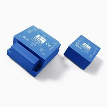 low profile short circuit proof PCB transformer 4 - 35 VA | FLE series  Block Transformatoren-Elektronik