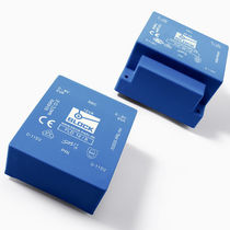 low profile short circuit proof PCB transformer 4 ‑ 48 VA | FLD series  Block Transformatoren-Elektronik