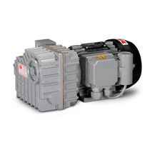 lubricated rotary vane vacuum pump max. 7 m³/h | LB.6 DVP Vacuum Technology