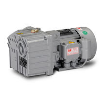 lubricated rotary vane vacuum pump max. 14 m³/h | LC.12 DVP Vacuum Technology