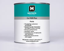 lubricating and separating paste max. 650 &deg;C | MOLYKOTE&reg; CU-7439 Dow Corning