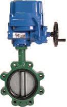 lug butterfly valve 120 Vac, 2 - 24&quot; | NEMA 4 Spartan Peripheral Devices