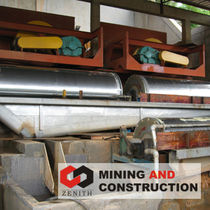 magnetic roller separator ZCTB series Shanghai Zenith Mining and Construction Machinery