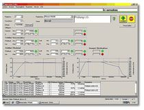 management and data storage software for leak and flow tests  Innomatec