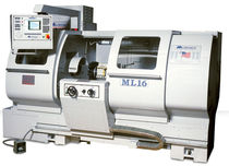 "manual and CNC combination lathe 17.5"" / 2.04"" 