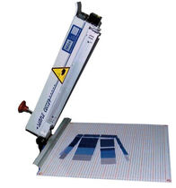 manual fabric sample cutting machine max. 45 x 45 cm | SC 45  Hoza-Cutter GmbH
