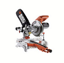 manual miter saw with sliding unit 4 800 rpm | SMS400 Black & Decker