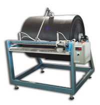 manual textile cutting machine  Pinnacle Converting Equipment