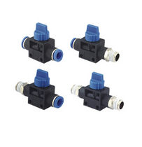 manual valve 1/8&quot; - 1/2&quot; | HVxx series Ningbo Pneumission Pneumatic Inc