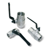manually operated 2-way vacuum valve max. ø G3 � | 130x10 series VUOTOTECNICA
