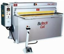 mechanical guillotine shears max. 4100 mm | BuCut M series BUTEK SHEET METAL WORKING MACHINERY