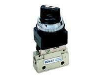 mechanically-operated pneumatic valve 1/8&quot; | MOV series Ningbo Pneumission Pneumatic Inc