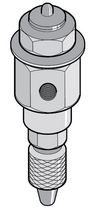 mechanically-operated poppet valve 2 mm | 42 series KUHNKE