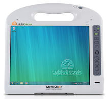 medical tablet PC Intel Centrino, 2 GB | MediSlate TabletKiosk