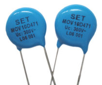 metal oxide varistor (MOV) 1.75, 3.5, 6, 10 kA | MOV series Xiamen SET electronics Co.,Ltd