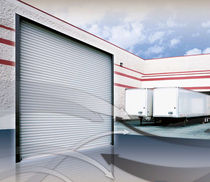 metal roll-up door max. 24 x 24 ft (7 315 x 7 315 mm) | Olympian 900 US Door & Building Components