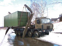 military self-loading container-handler max. 45 t Steelbro