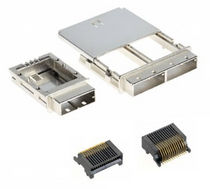mini serial attached SCSI (SAS) connector 8A26, 8C26 series 3M Electronics