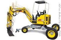 mini walking excavator 2 000 kg | A20 Menzi Muck AG
