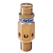"miniature back-pressure regulator 1/4"", max. 21 bar AirCom Pneumatic"