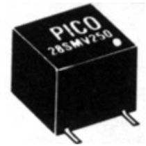 miniature isolated DC/DC converter 1.25 W, max. 500 V DC | AV, SMV Series Pico Electronics