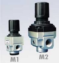 miniature pneumatic pressure regulator Type M1R, Type M2R Marsh Bellofram