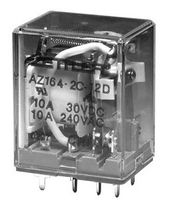 miniature power relay max. 15 A, 3 750 VA | AZ164 ZETTLER