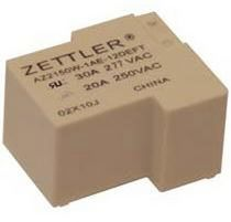 miniature solar power relay max. 30 A, 8 310 VA | AZ2150W ZETTLER