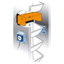 misalignment monitor for elevator and conveyor CDS 80 C STIF