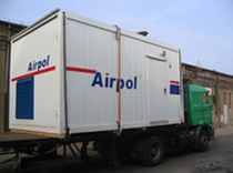 mobile air compressor station  Airpol