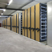 mobile archive shelving  RAYONOR