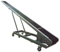 mobile belt conveyor max. 300 lbs, 14"