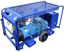 mobile breathing air compressor 204 l/min, 10 bar, ATEX  Factair