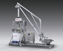 mobile bulk bag filler with metal detector  FLEXICON