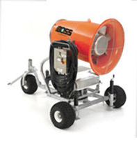 mobile dust suppression fog cannon 25 HP | DB-60  Dust Control Technology