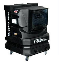 mobile evaporative cooler 93 m&sup3;/min, 75 m&sup2; | cyclone 3000 lc-europe