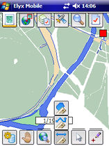 mobile GIS data collection software Elyx Mobile STAR APIC