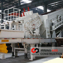 mobile impact crusher Y3S1548F1010 Shanghai Zenith Mining and Construction Machinery