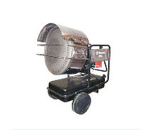 mobile infrared gas heater ISS Munters