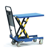mobile lift table max. 150 kg fetra