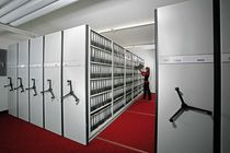 mobile office shelving META MULTIBLOC&reg; META-Regalbau GmbH &amp; Co. KG