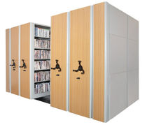 mobile office shelving MobileTrak5&reg; Datum