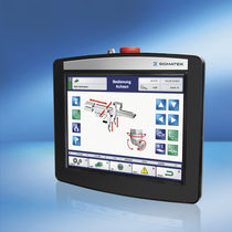 mobile operator terminal with touch screen graphic display HBG 0811 SIGMATEK