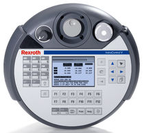 mobile operator terminal with touch screen graphic display IndraControl VCH Bosch Rexroth - Electric Drives and Controls