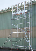 mobile scaffolding max. 150 kg, 8 000 - 12 000 mm METALCONSTRUCT Zrt