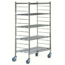 mobile shelving 1 380 x 560 x 1 850 mm CADDIE