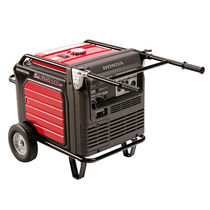 mobile silent gasoline generator 120 - 240 V, 6.5 kW | EU6500iS series Honda Power Equipment