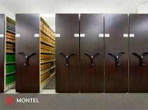 mobile storage shelving Mobilex Montel