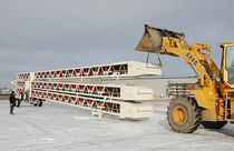 mobile telescopic belt conveyor max. 240 ft | Slide-Pac Superior Industries